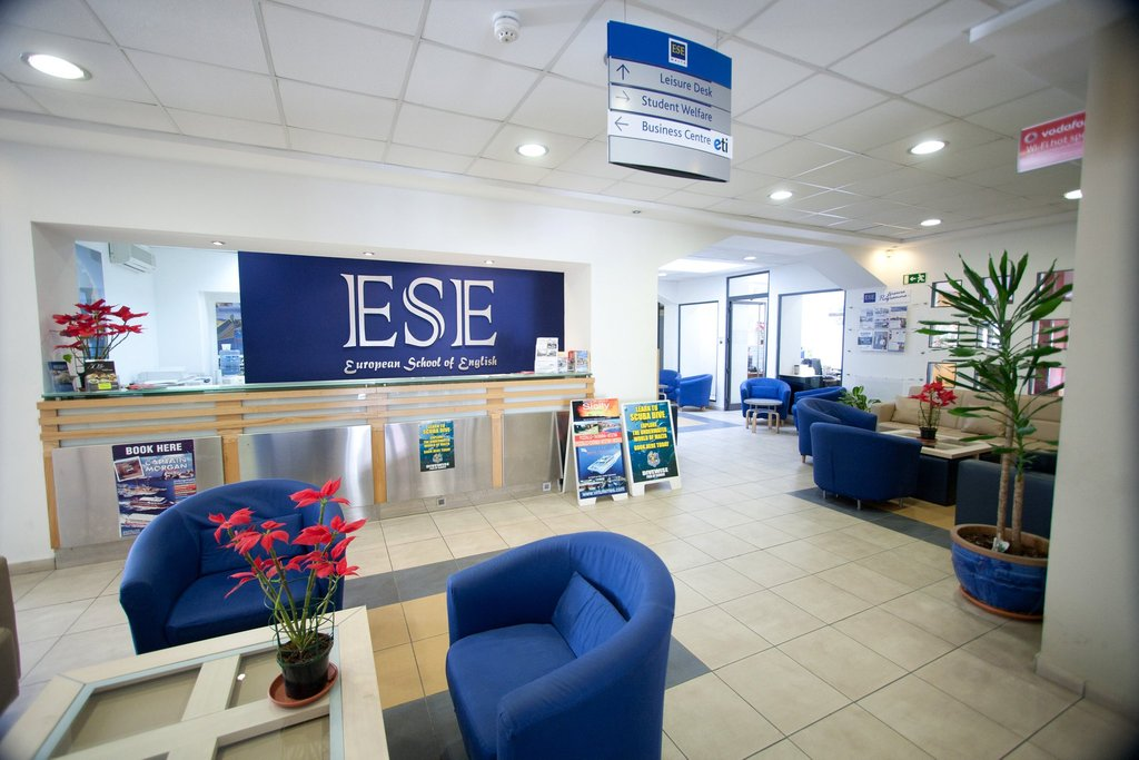 ESE school inside building malta