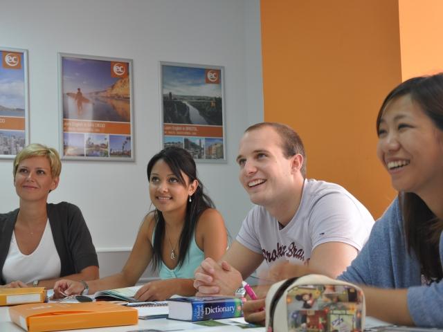 ec malta students in class