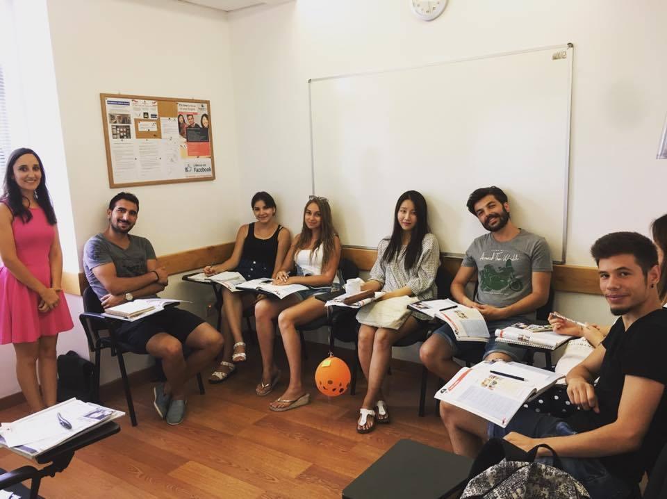 linguatime malta students classroom