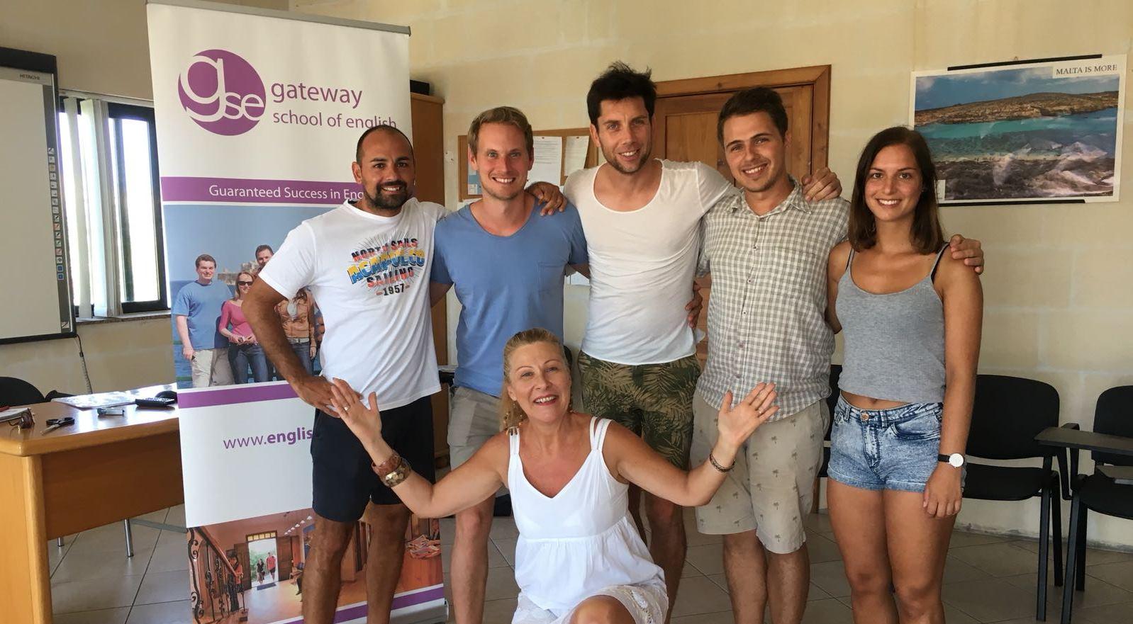 GSE English School Malta Adults learning English