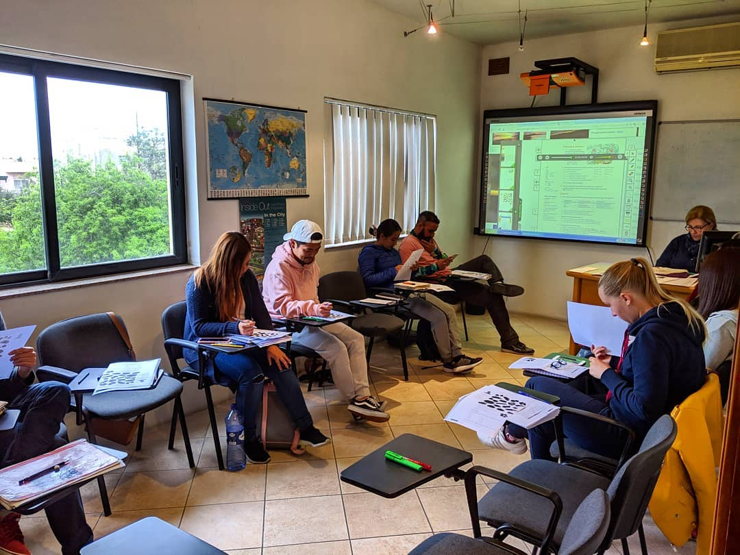 gateway school english students classroom