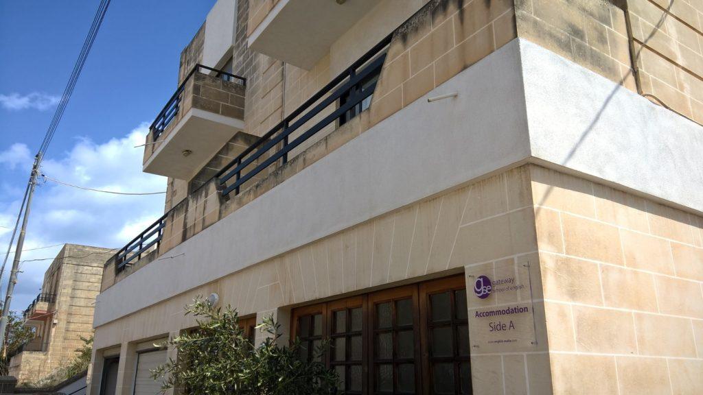 GSE Malta school residence facade