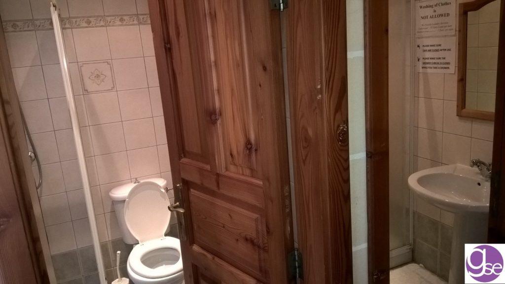 GSE Malta school residence bathroom