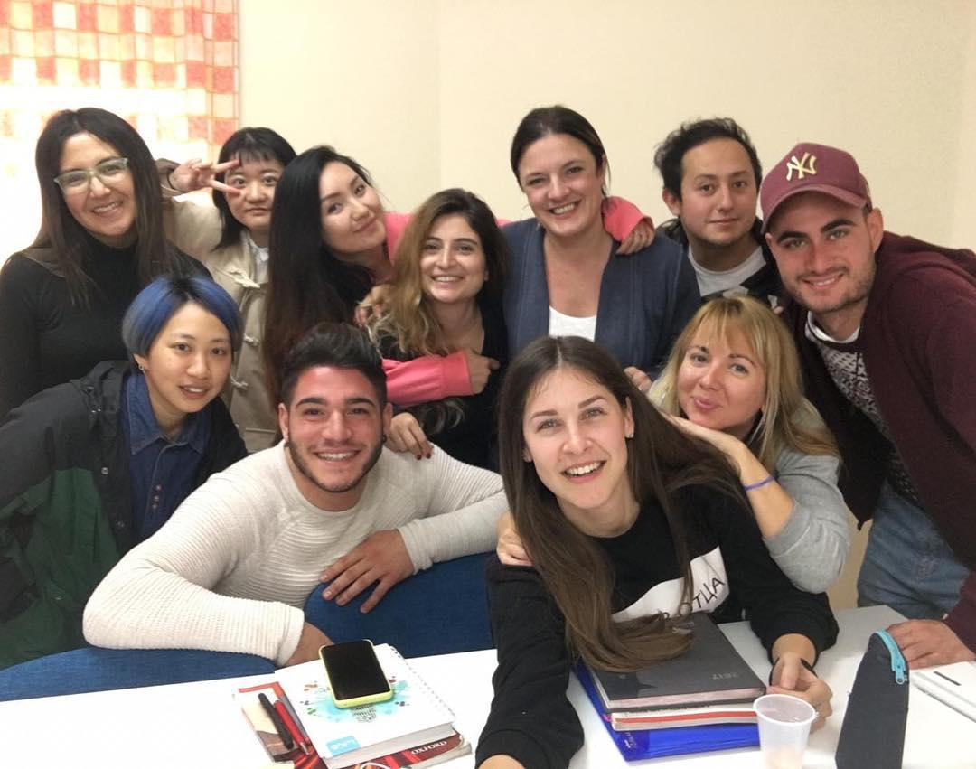 clubclass malta students in classroom