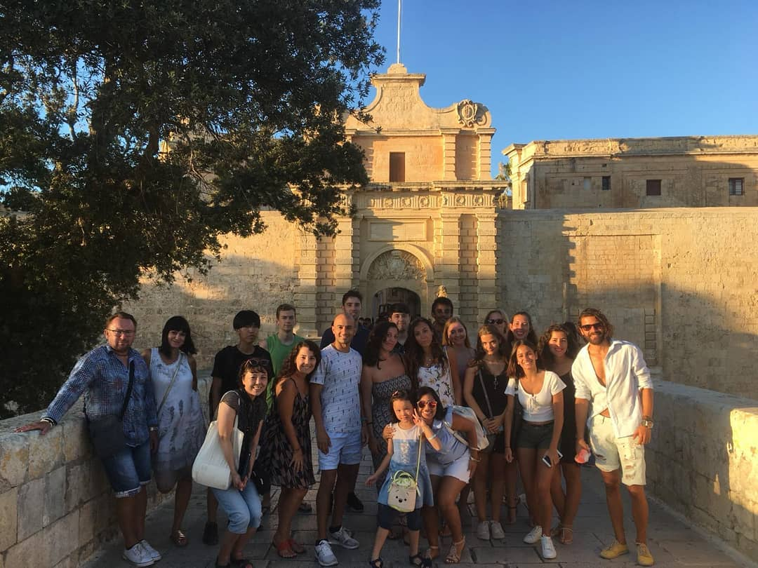 clubclass malta students in mdina