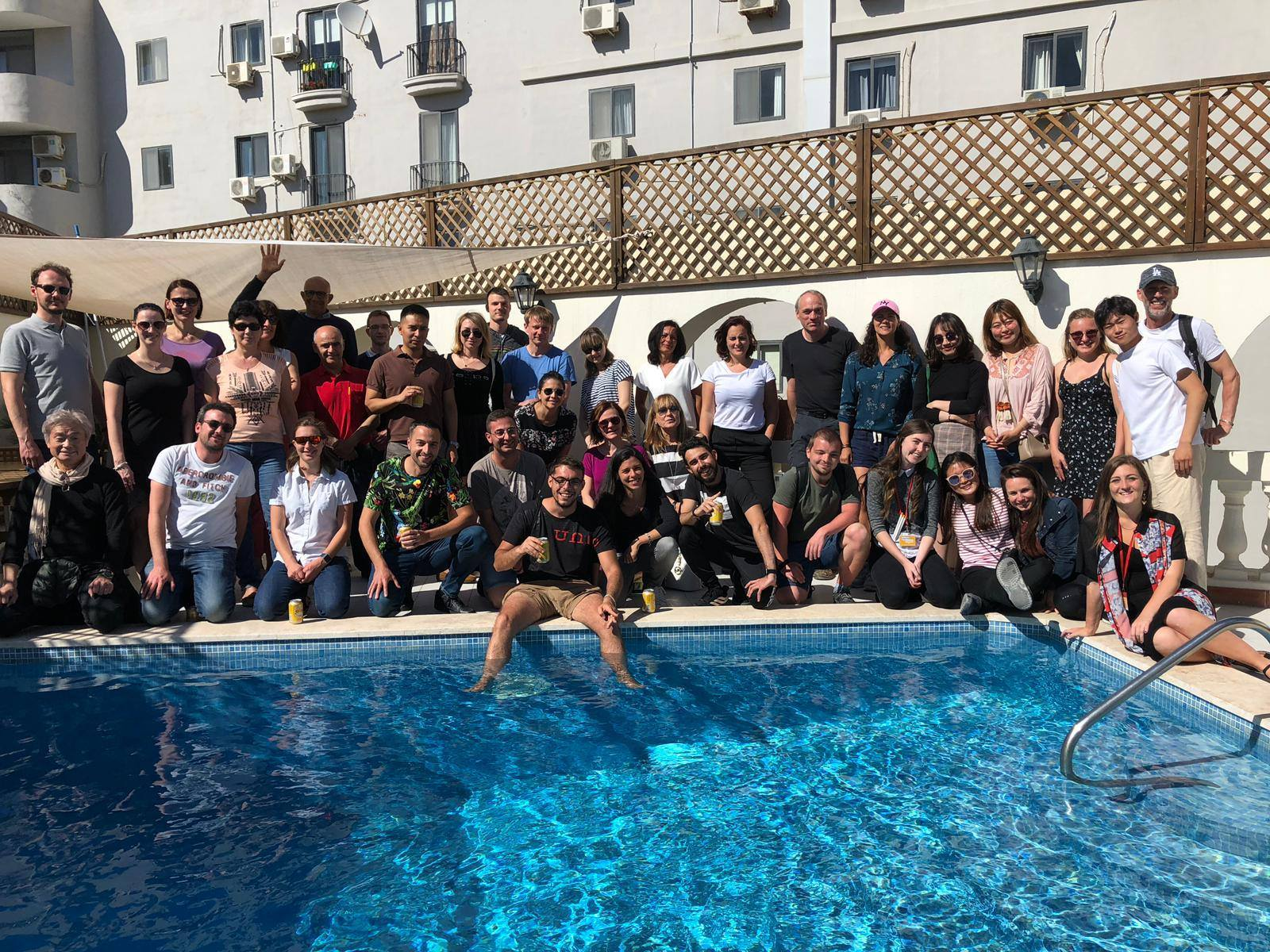 maltalingua swimming pool piscine