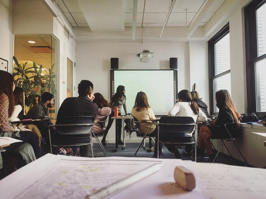 ec new yrok classroom