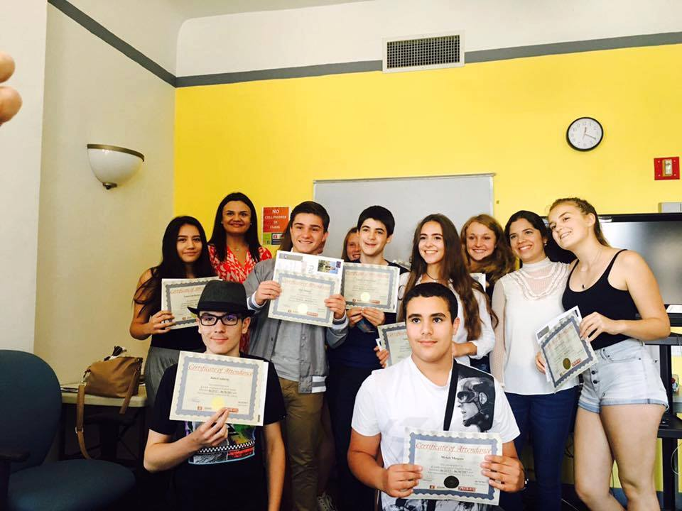 student diploma sprachcaffe new york