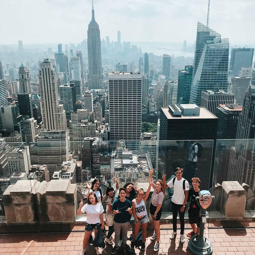 student etudiant sprachcaffe new york