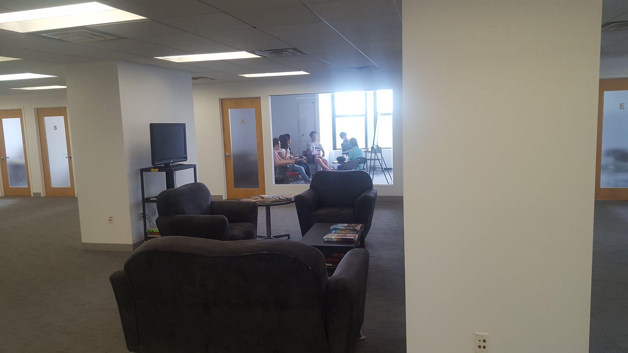 student lounge sprachcaffe new york