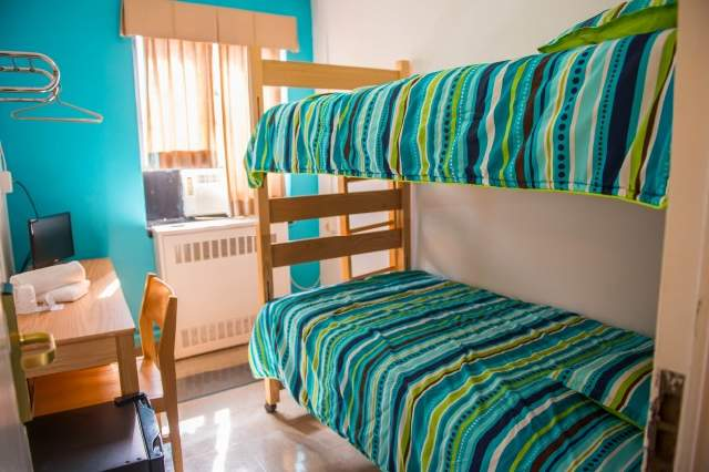 double bedroom sprachcaffe residence new york