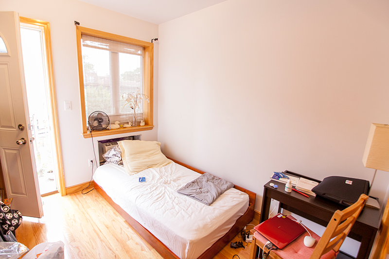 ec new york homestay single bed
