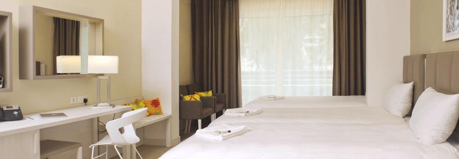 salini resort teen club residence bedrooms