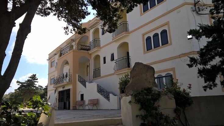 GSE Junior Accommodation Malta Porziuncola Residence St Julians Facade 3