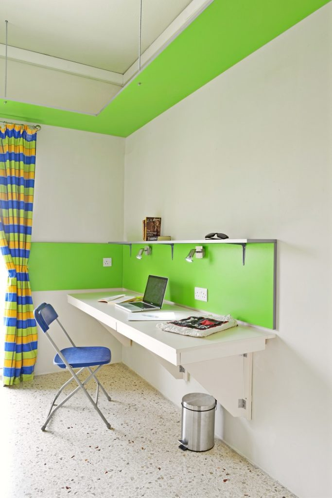 NSTS Campus Residence in Msida malta desk