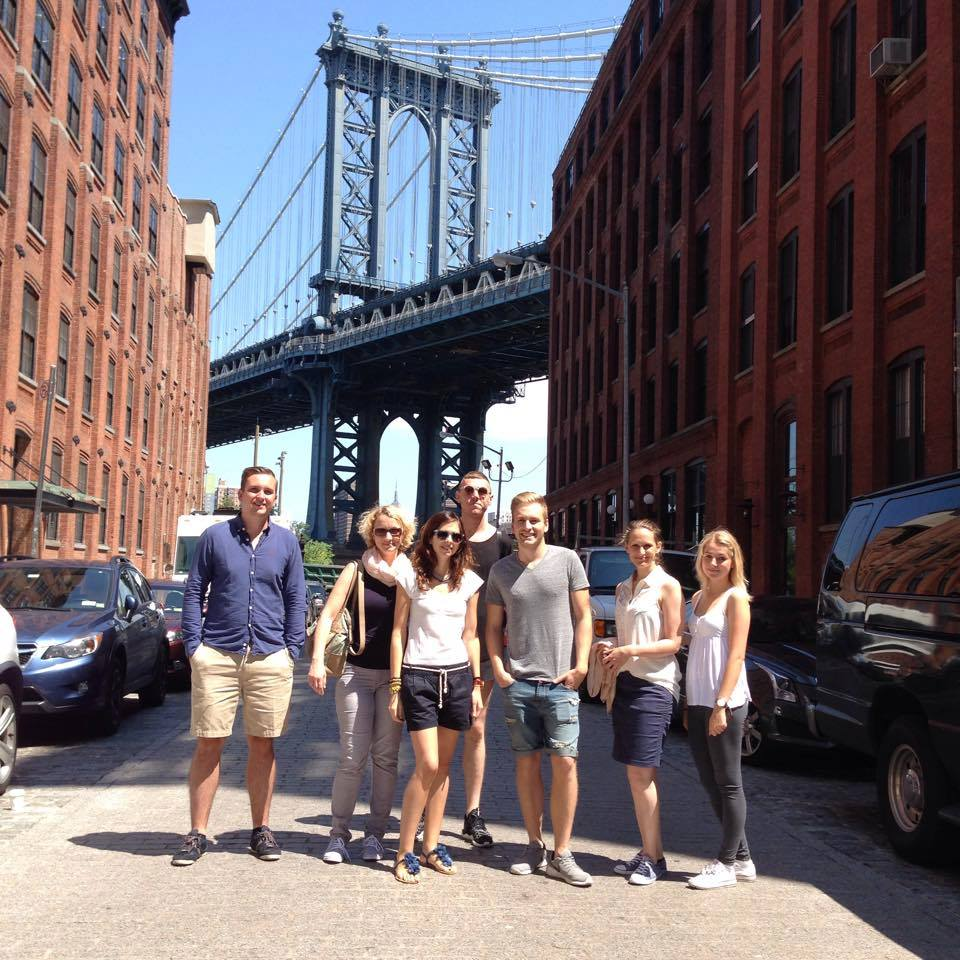 ecole brooklyn school of languages new york view bridge