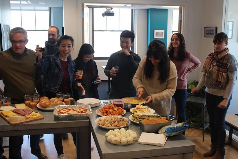 school brooklyn school of languages new york Thanksgiving