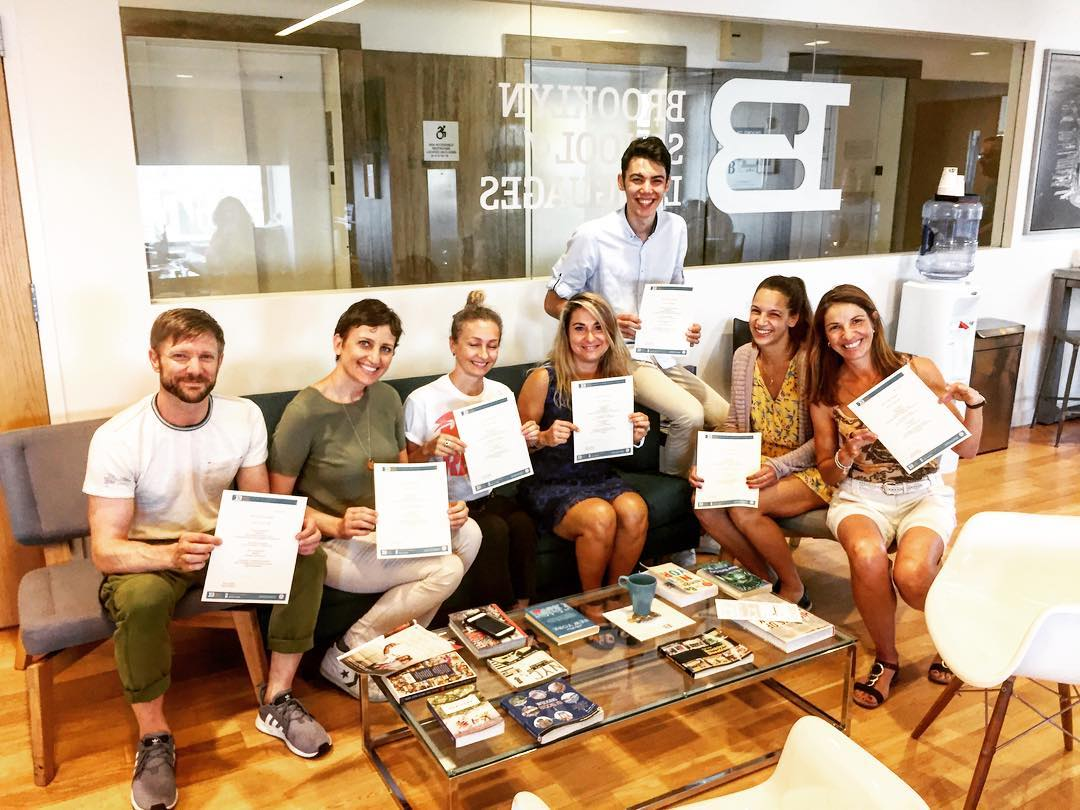 students ecole langue new york bse diploma