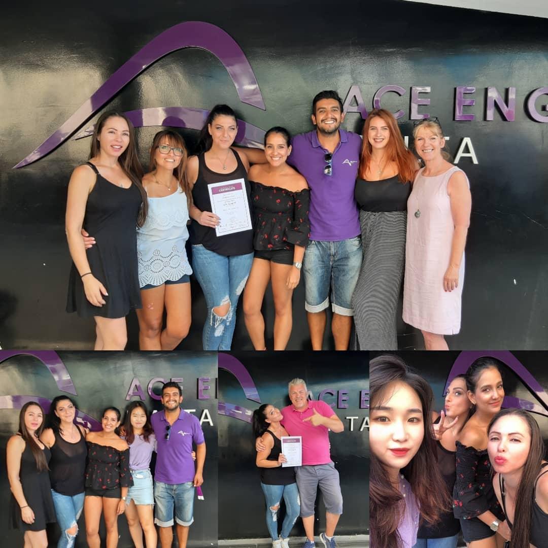 ace english school malta students anglais