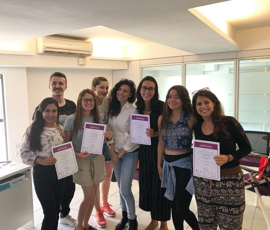 ace english school malta students courses anglais