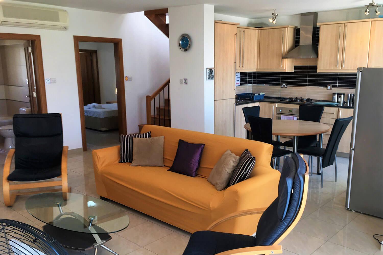 ace standart apartment malta living room