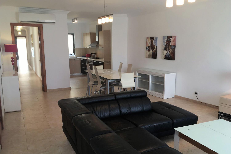 ace standart apartment malta living room malte