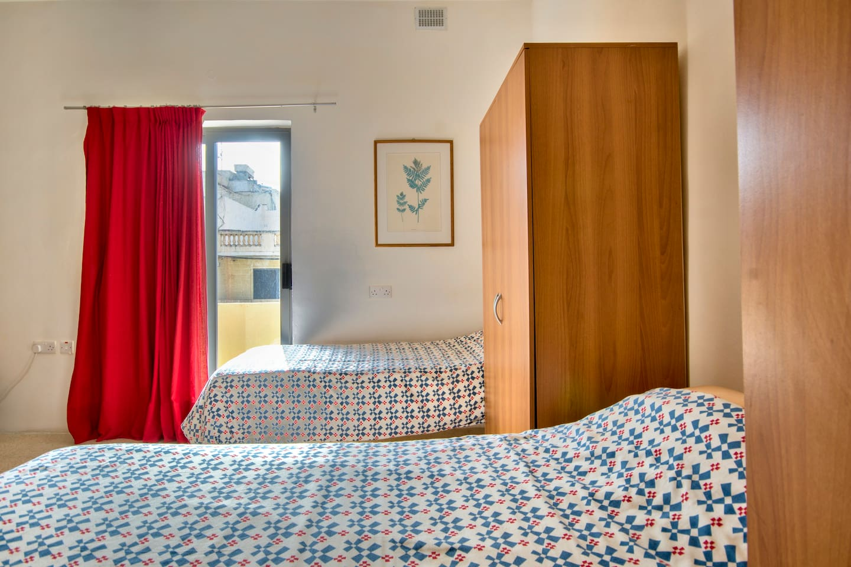 Villa Belview Student Residence bedroom Malte Malta