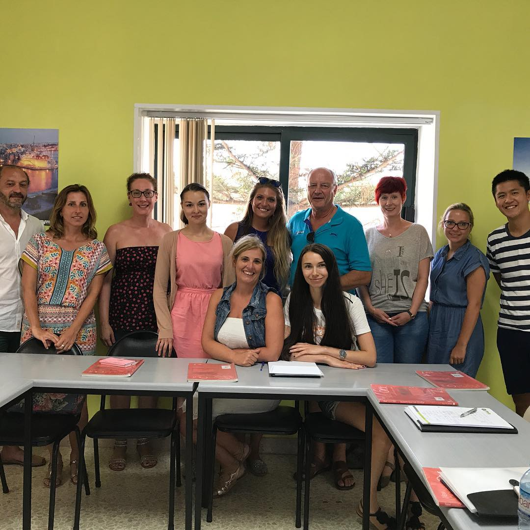 gv malta students classroom