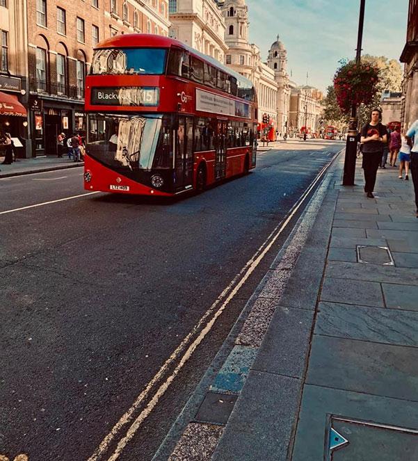 london street bus londres