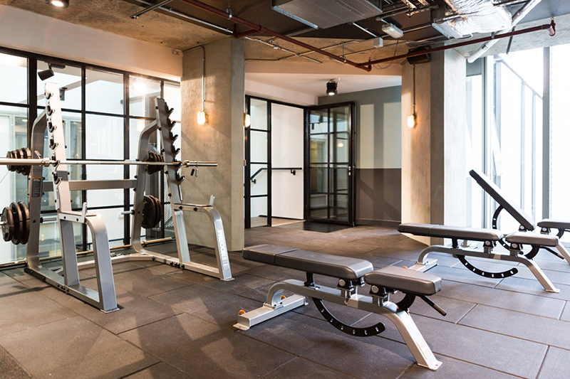 ec london chapter residence fitness room