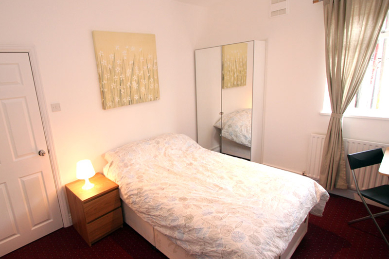 ec london homestay bedroom londres