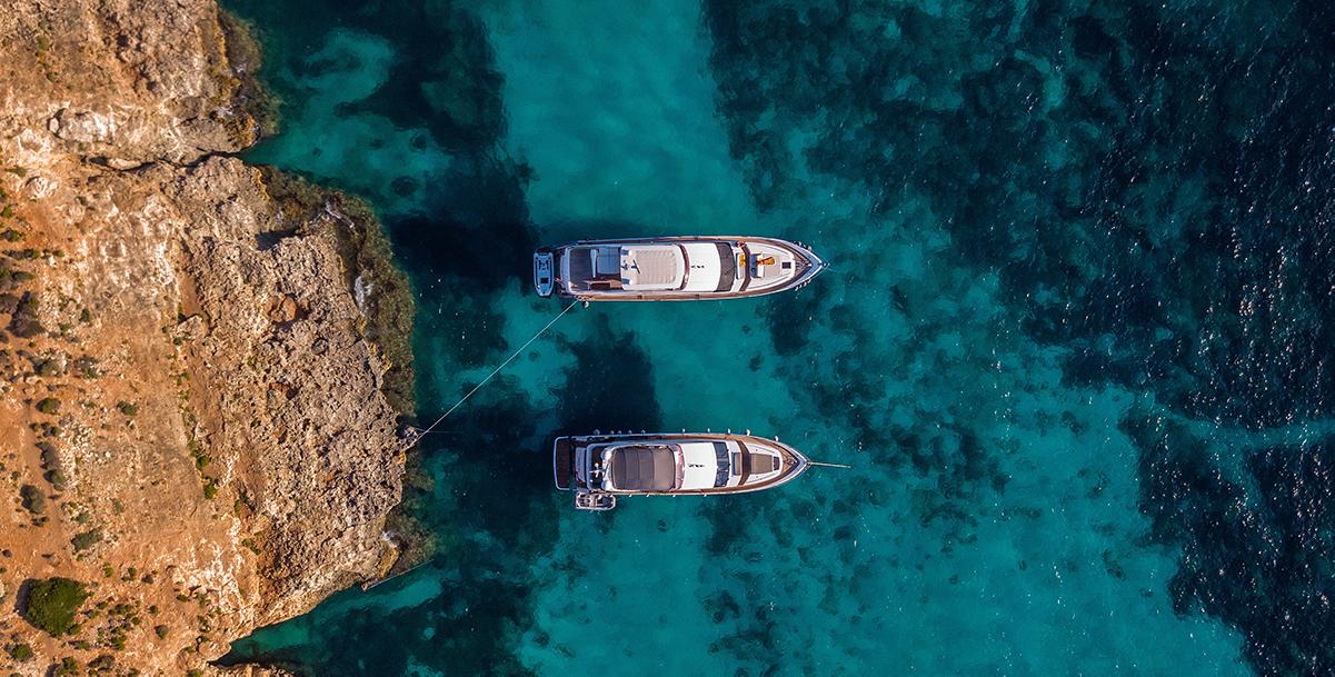 Comino, un petit paradis au large de l'île de Malte.