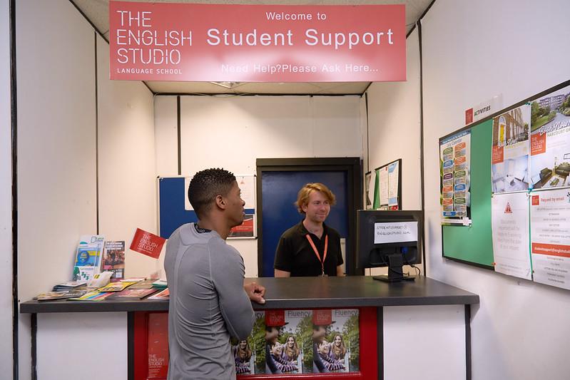 the english studio dublin support
