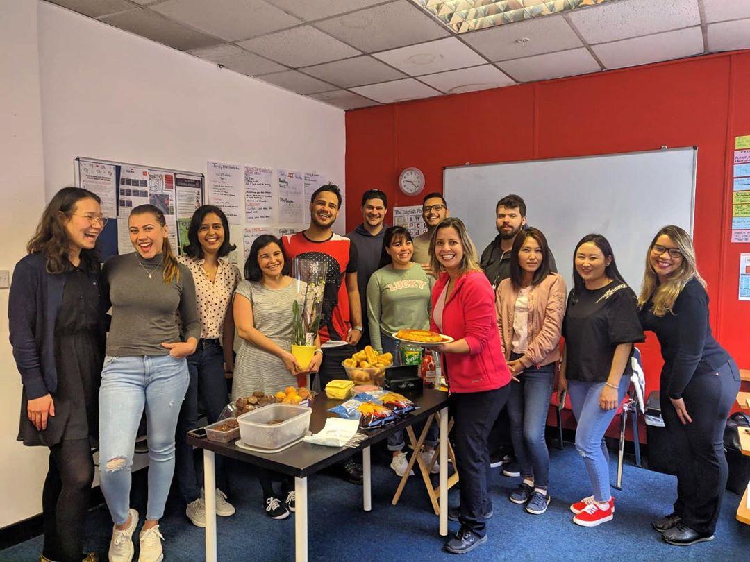 the english studio dublin students meeting