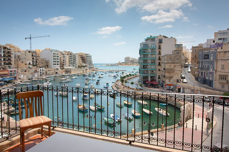 ec malta shared apartment view