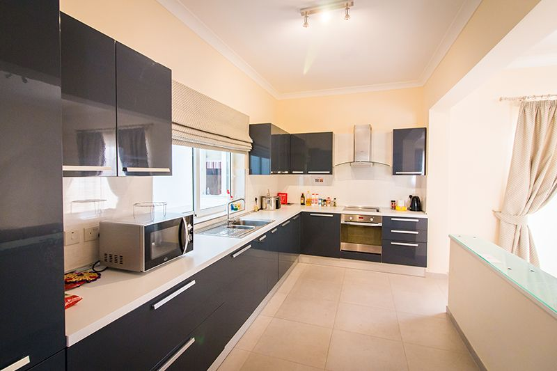 ec malta shared apartment kitchen