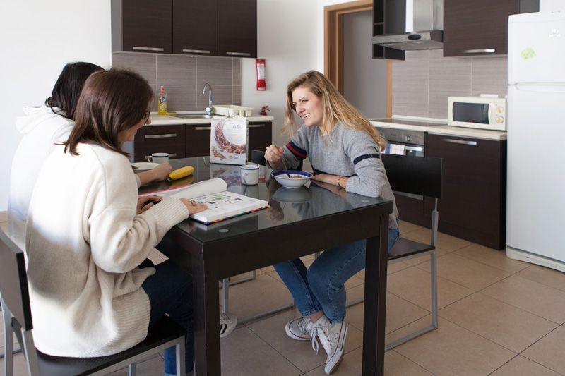 ec malta shared apartment student english course