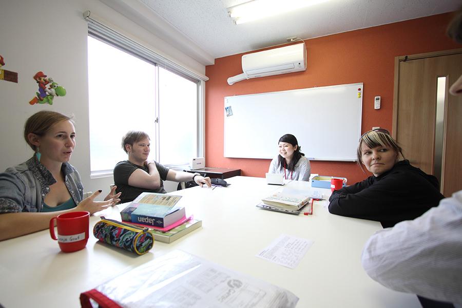 genki tokyo school classroom