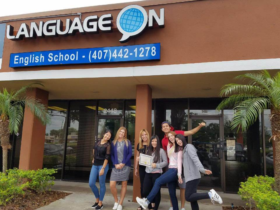 language on building orlando student english school