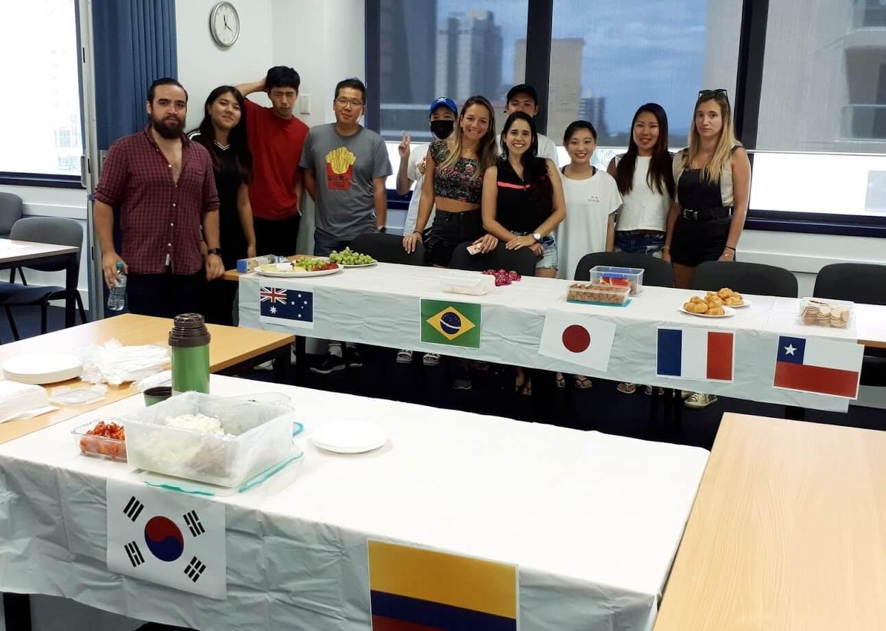 student activity australia english school