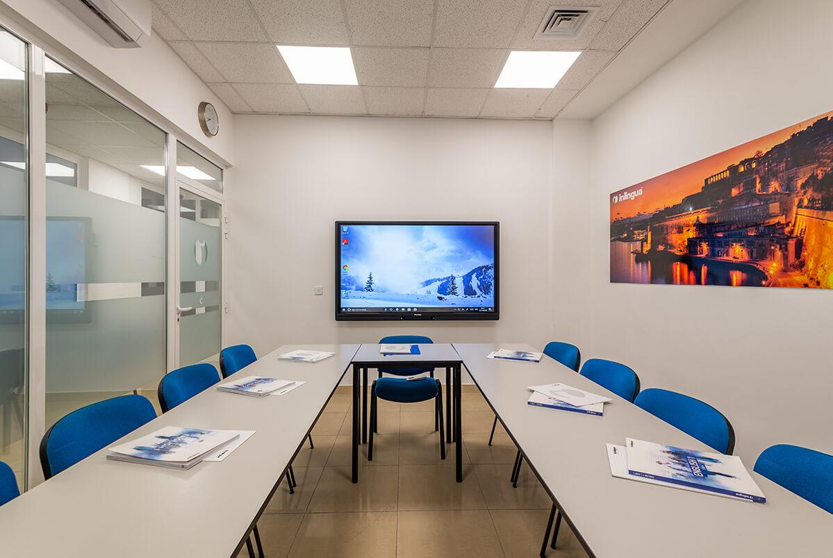 inlingua school language malta classroom