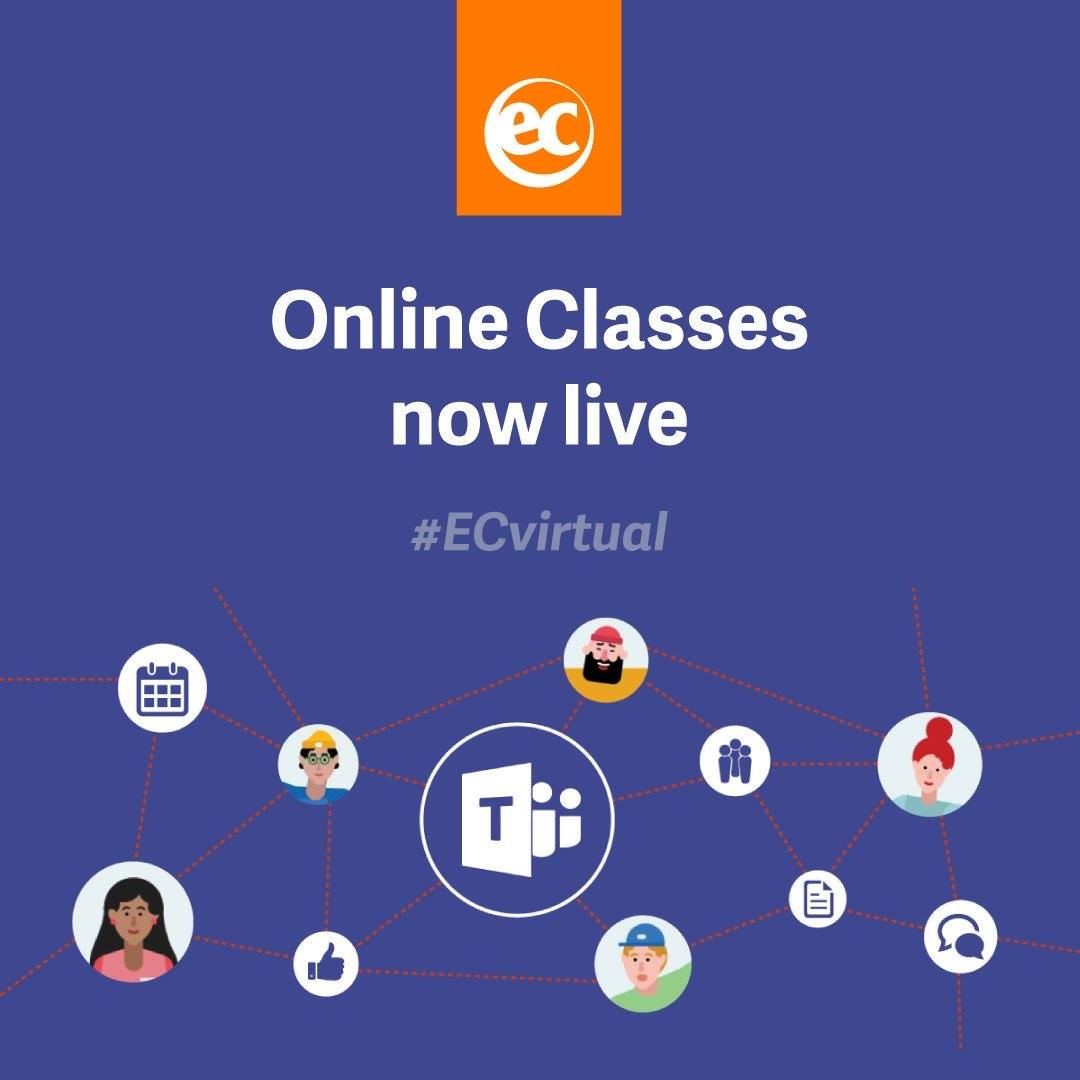 ec virtual live lesson enalgish
