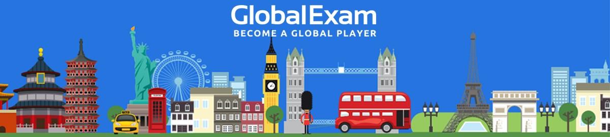 global exam banner