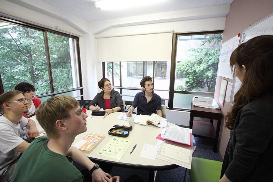 genki tokyo japan japon classrom