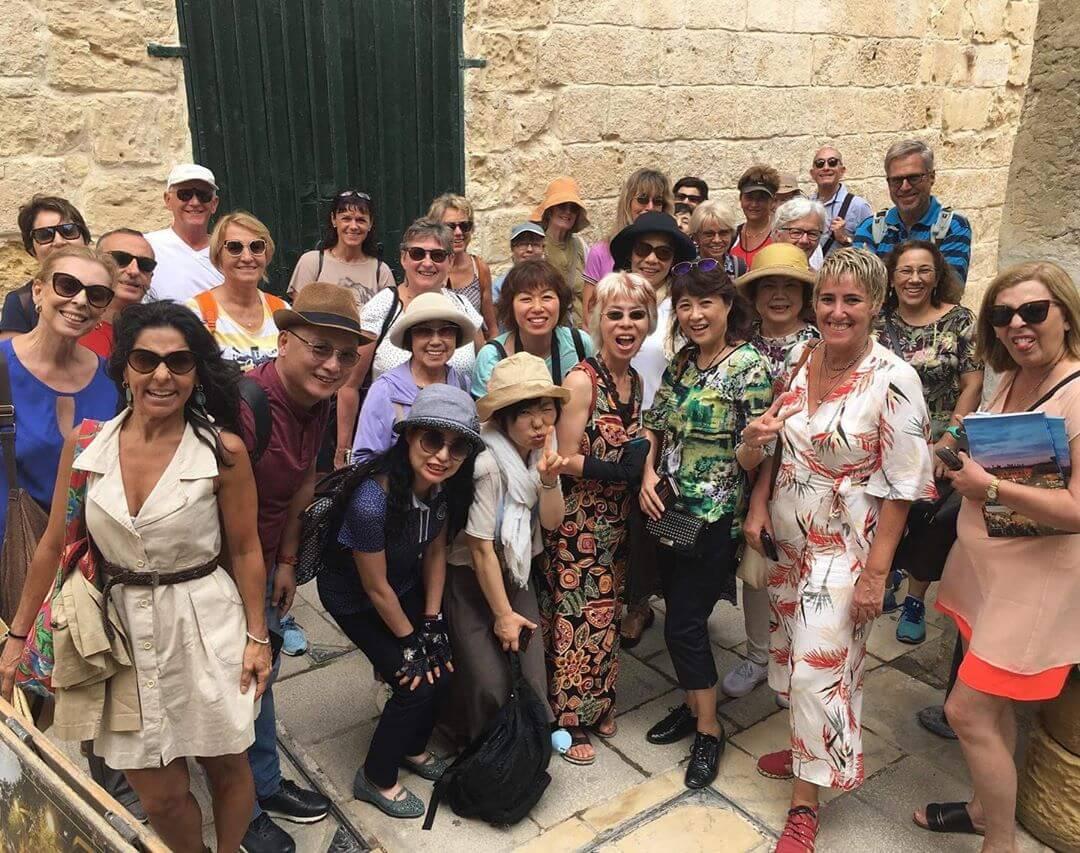 club 50 malta visit