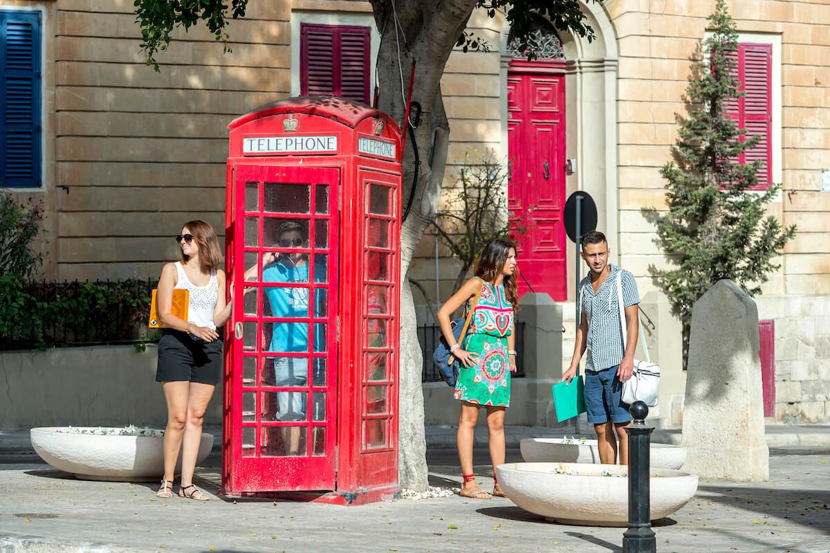 student language school sliema malta