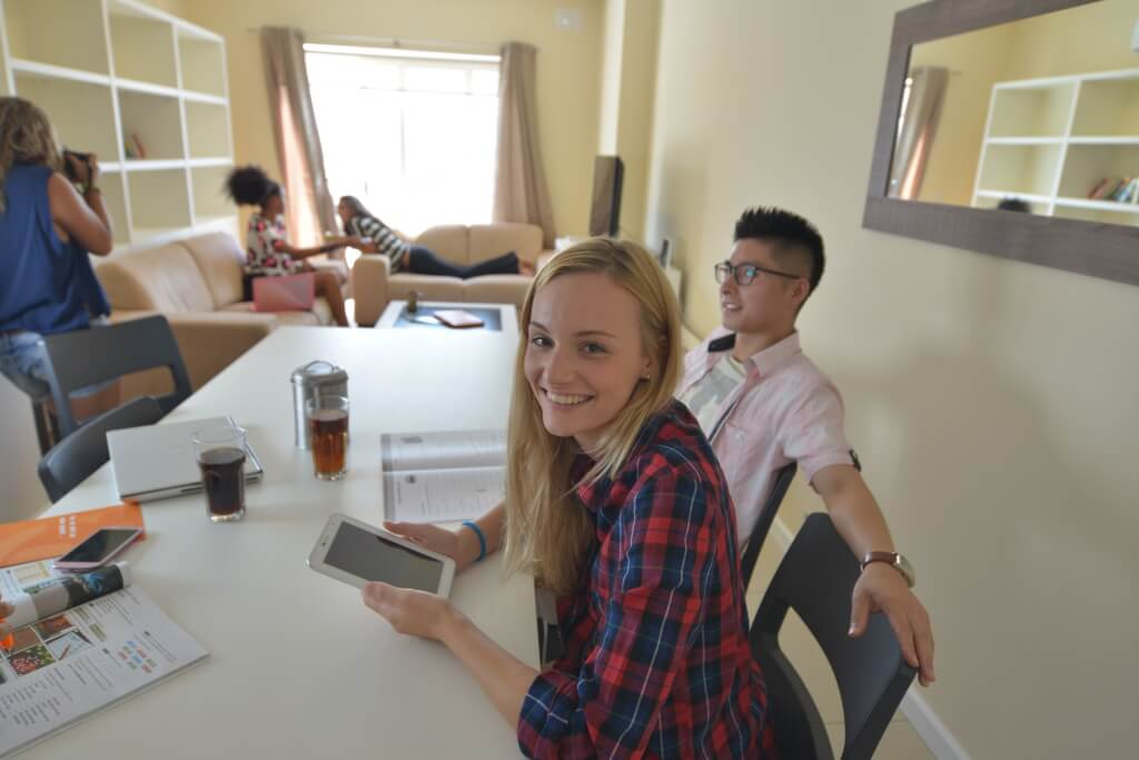 student working sliema appartment