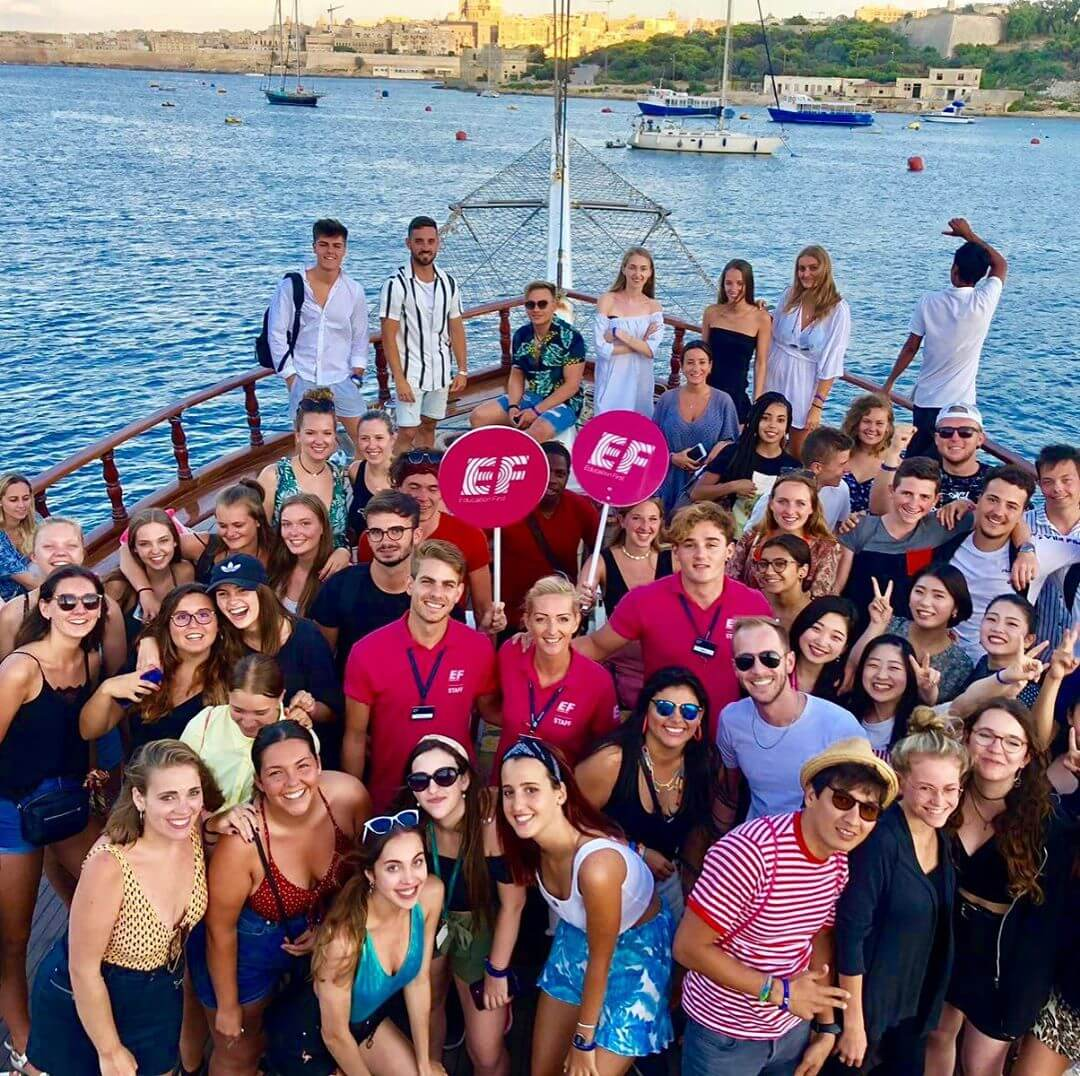 ef malta boat party