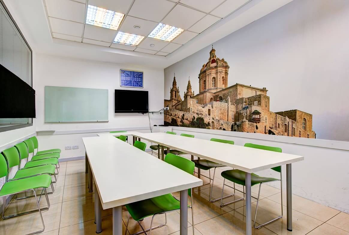 ef malta classroom