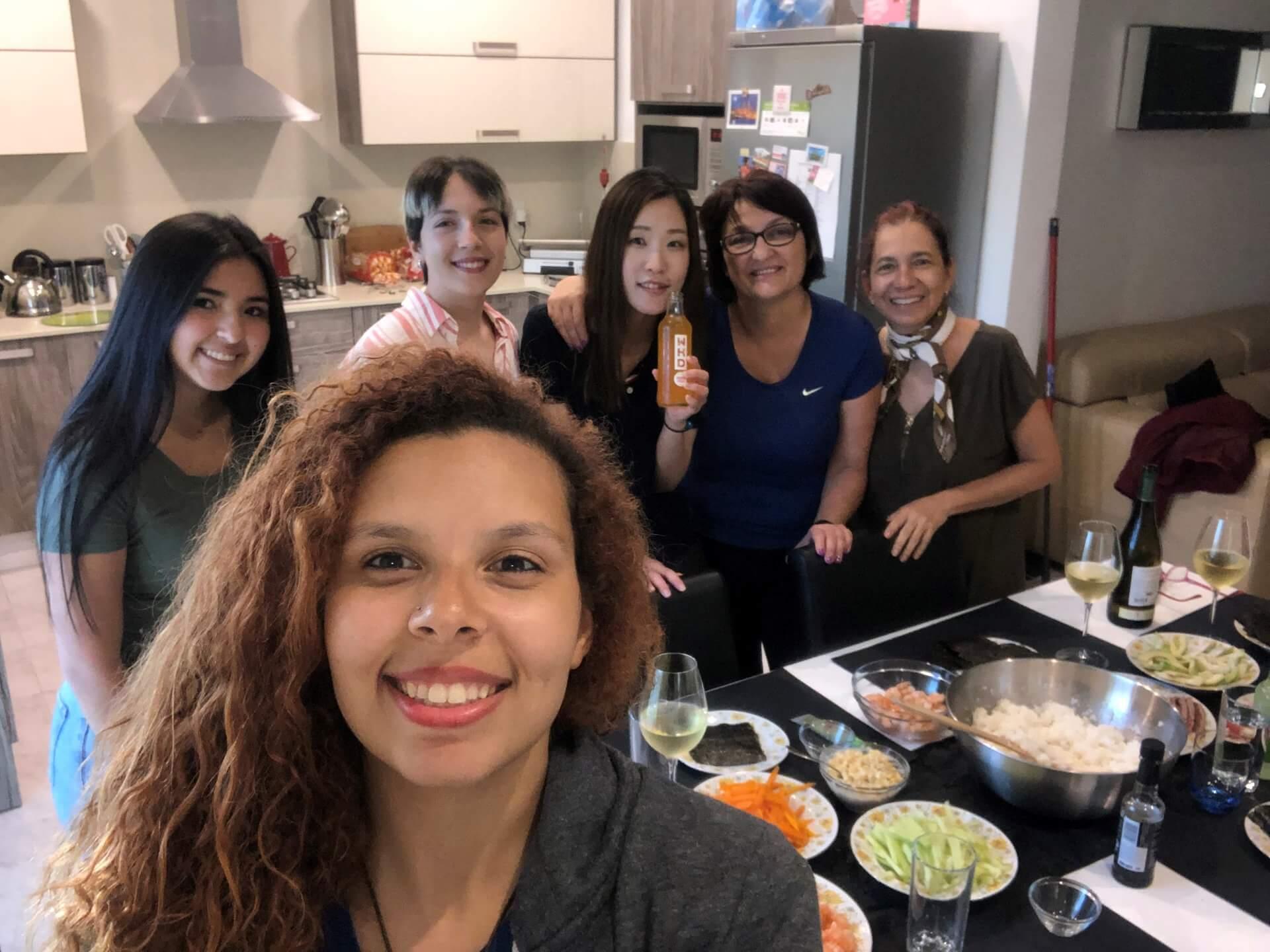 ef malta famille accueil malte kitchen cuisine
